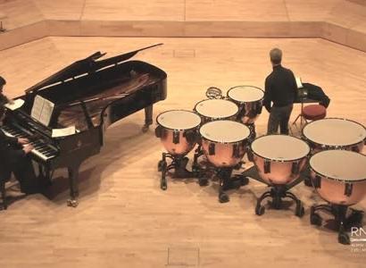 И.С. Бах. Токката и фуга, BWV 565, переложение для литавр и фо-но.